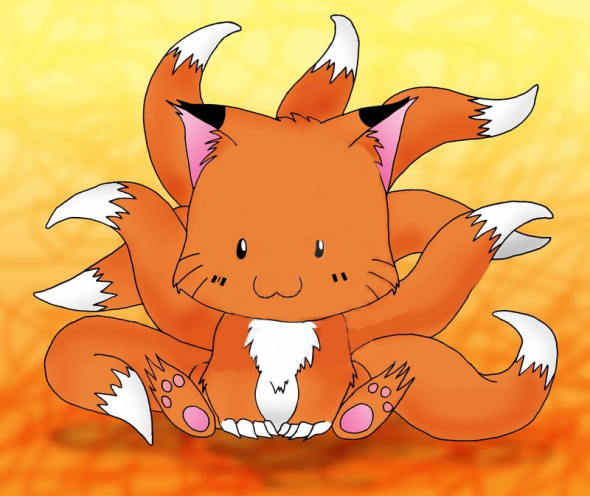 chibi_9_tailed_fox_by_animefreak1212